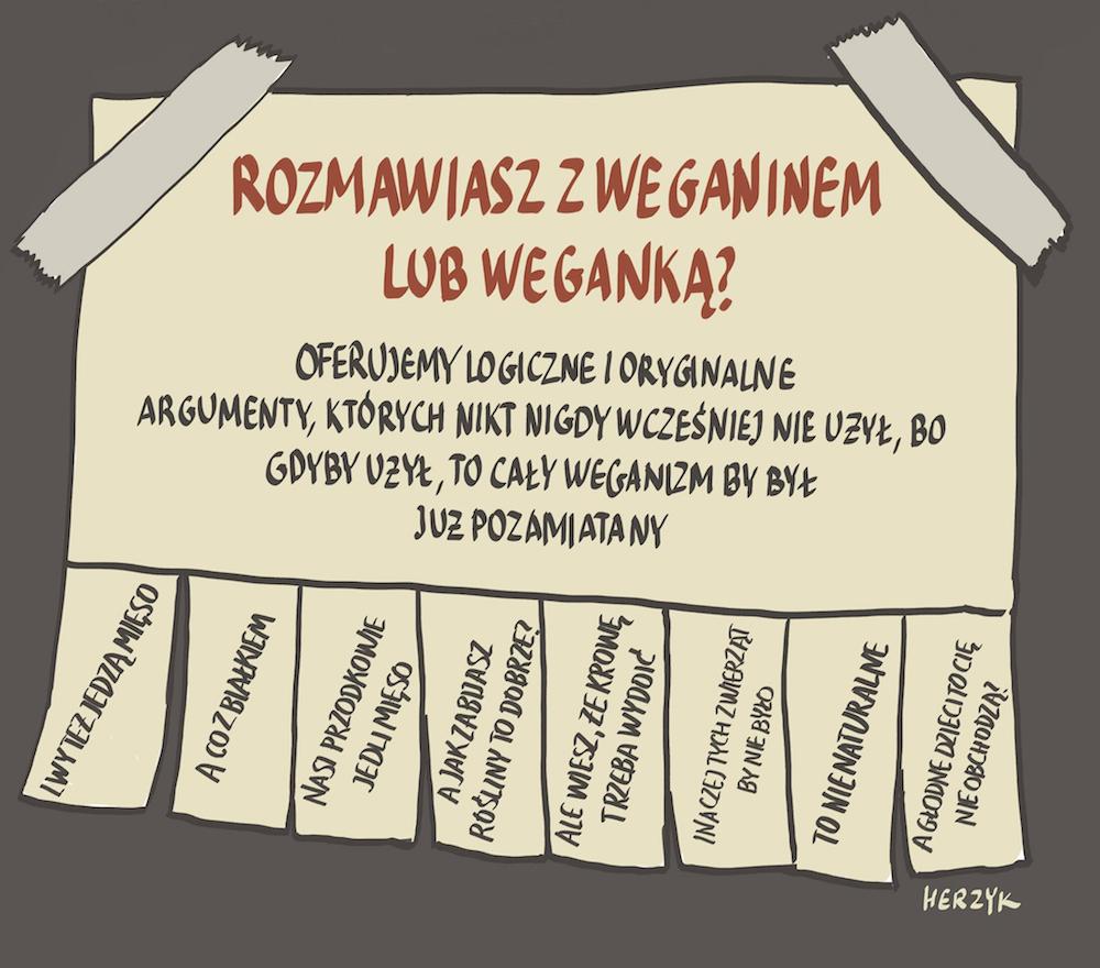 Herzyk - weganskie argumenty
