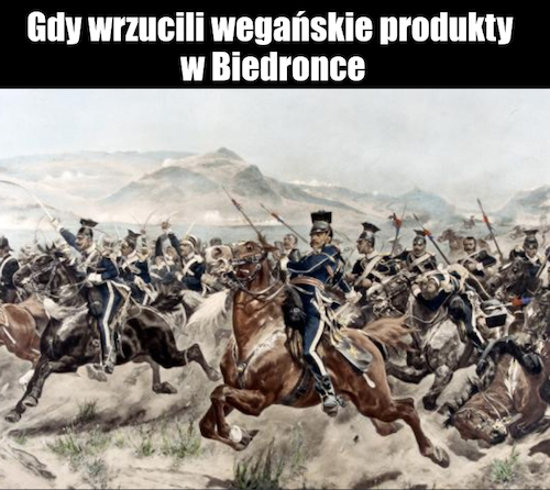 weganska biedronka memy
